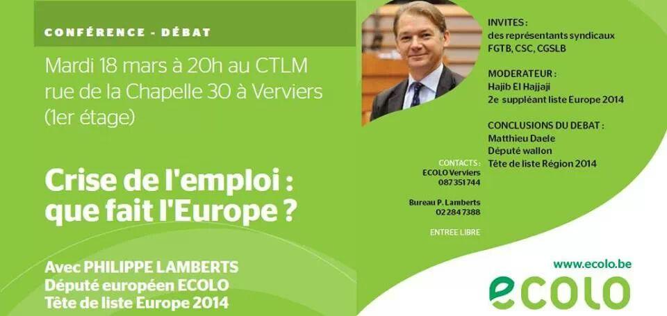 Crise de l'emploi – Que fait l'Europe?